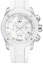 Edox Women's 10411 3B NAIN Chronoffshore Analog Display Swiss Quartz White Watch