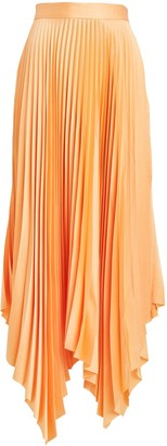 Significant Other Eden Pleated Maxi Skirt
