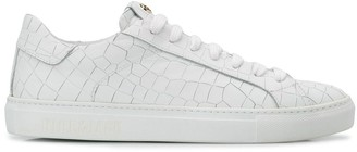 Hide&Jack embossed low top trainers