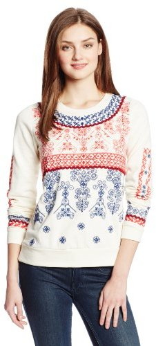 Lucky Brand Women's Embroidered Pullover