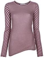 Etoile Isabel Marant striped slim fit top