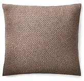 Ralph Lauren Modern Icons Collection Tylar Basketweave Lambswool Square Feather Pillow