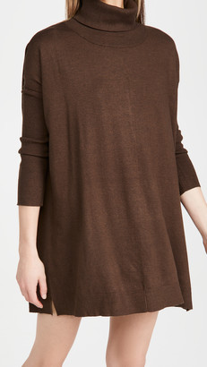 BB Dakota Hug Me Tight Mock Neck Sweater Dress