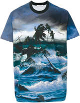Givenchy Columbian-fit Hawaii print T-shirt