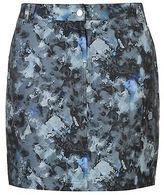 Slazenger Womens Patterned Golf Skort Skirt Breathable Mesh Standard Fit Zip