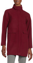 Vince Camuto Wool-Blend Stand Collar Coat
