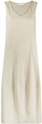 Fabiana Filippi V-neck full shape dress