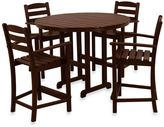 Bed Bath & Beyond POLYWOOD® La Casa 5-Piece Counter Height Table Set