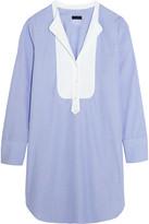 J.Crew Collection Thomas Mason Cotton Mini Dress - Blue