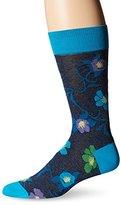 Bugatchi Men's Blossom Fancy Sock