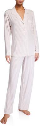 Eberjey Nordic Stripe Classic Pajama Set