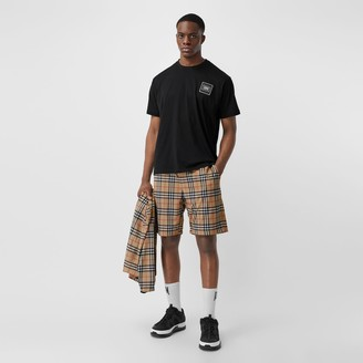 Burberry Vintage Check Technical Twill Shorts