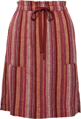 Caslon Patch Pocket Linen Blend Skirt