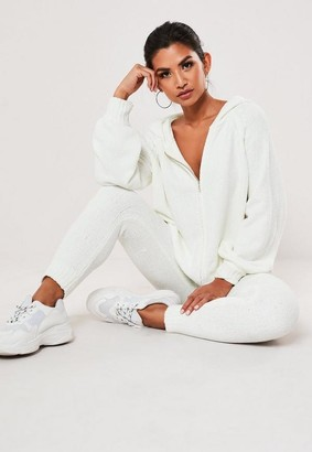 Missguided Co Ord Chenille Joggers