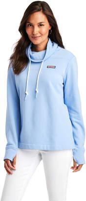 Vineyard Vines Garment-Dye Relaxed Funnel Neck Shep Shirt