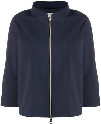 Herno Boxy Cropped Jacket
