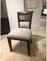 Stanley Furniture Old Town Queen Anne Back Side Chair in Barrister (Set of 2