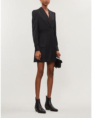 The Kooples Blazer-style wool mini dress
