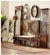Home Decorators Collection Baroness 71 in. Iron/Wood Wall Gate