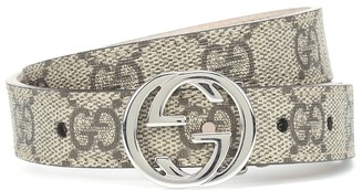 Gucci Kids GG Supreme belt