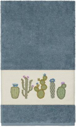 Linum Towels Teal Mila Embellished Bath Towel