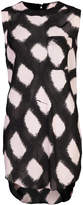 Thomas Wylde printed long-line tank top