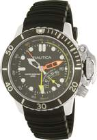 Nautica Men's Nmx Dive NAD47500G Rubber Quartz Watch