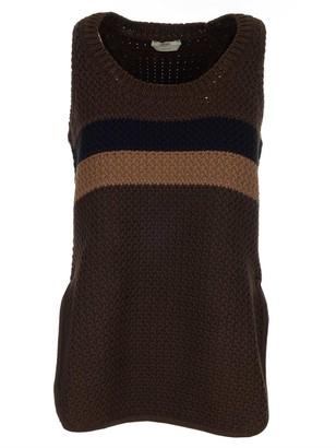 Fendi Knitted Sleeveless Sweater