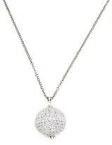 Rina Limor Fine Jewelry Silver & Blue Topaz Orb Pendant Necklace
