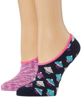 Novelty Accessories 2 Pair Cupcake Liner Socks - Womens