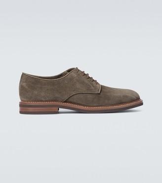 Brunello Cucinelli Suede derby shoes
