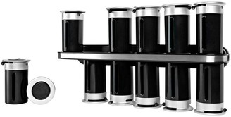 Zevro Zero Gravity Wall-Mount Magnetic Spice Rack