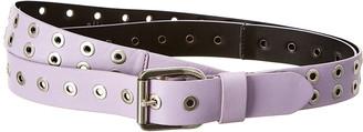 Alice + Olivia Eve Double Wrap Leather Belt