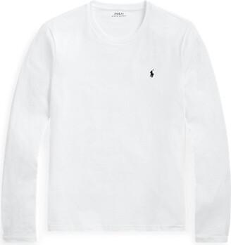 Ralph Lauren Cotton Jersey Crewneck Shirt