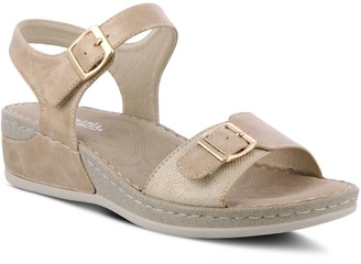 Patrizia by Spring Step Adjustable Wedge Sandals - Kianoga