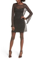 NBD Women's Paisley Sheer Mesh Dress