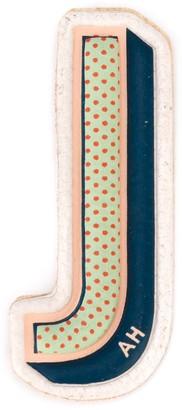 Anya Hindmarch 'J' sticker