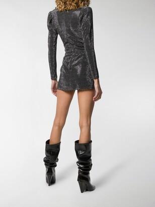 Saint Laurent Studded Mini Dress