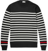 Saint Laurent Striped Wool Sweater