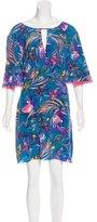 Matthew Williamson Silk Printed Dress
