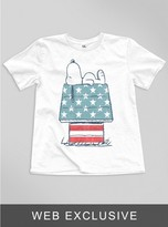 Junk Food Clothing Kids Boys Snoopy American Doghouse Tee-elecw-s