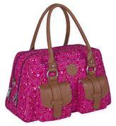 Lassig Vintage Metro Diaper Bag in Paisley Pink