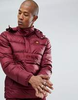 Ellesse Padded Overhead Jacket In Red