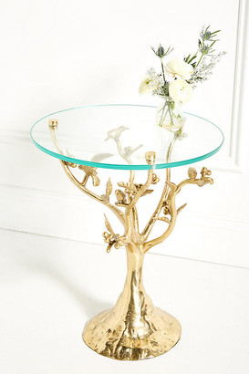 Anthropologie Tree Dwelling Side Table By in Brown Size ALL