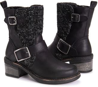 Muk Luks Women's Casual boots Black - Black Blaire Ankle Boot - Women