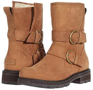 Sorel Lennoxtm Moto Boot Cozy (Velvet Tan) Women's Boots