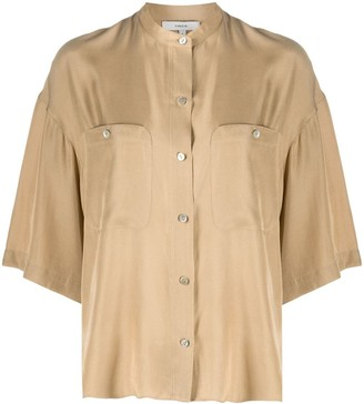 Vince Patch Pocket Blouse