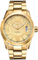 JBW Bond 1/10 Ct. T.W. Diamond Accent Mens Gold Tone 2-pc. Watch Boxed Set-J6311a-Set