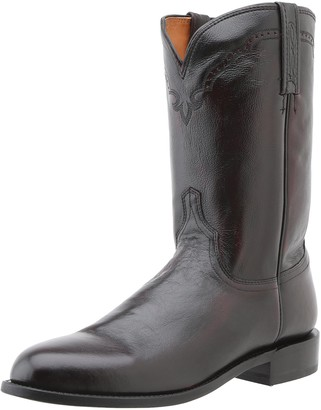 Lucchese Classics Men's Lawrence-bk Cherry Lone Star Calf Roper Riding Boot