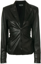 Tom Ford zip front blazer